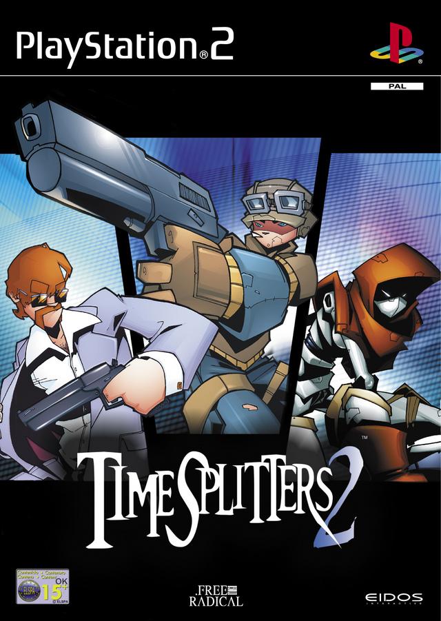 Pochette TimeSplitters 2